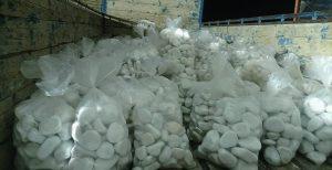 فروش سنگ رودخانه ای در کرج