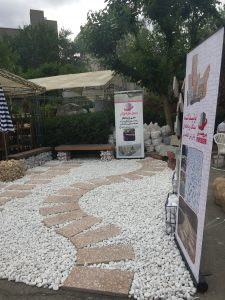 کاربرد های سنگ رودخانه ای