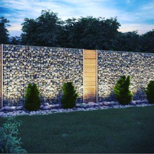 دیوار گابیون سنگی